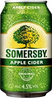 Somersby Cider (div. Sorten) 0,69 € - 0,33 Liter Dose (Grenzgänger CZ Travel-Free-Shop)