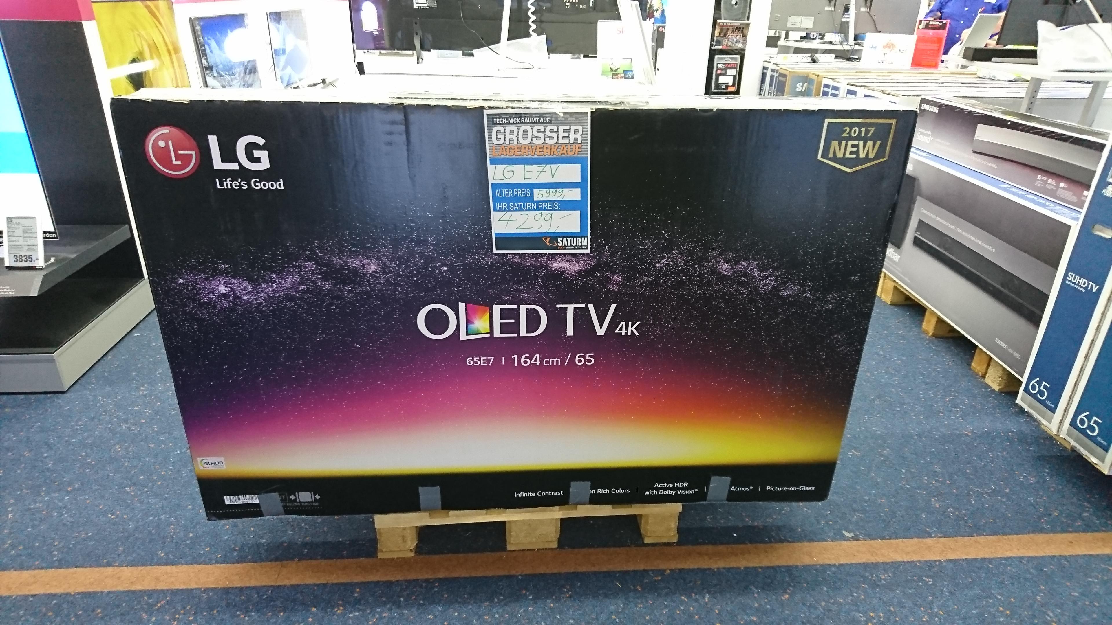 LG E7V (4K OLED TV) - Lokal - Saturn in Bergisch Gladbach