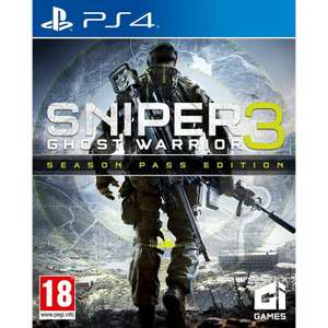 Sniper: Ghost Warrior 3 - Season Pass Edition PS4 [Amazon.it]