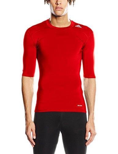 Adidas Herren T-shirt TF Base SS - Rot XL für 6,85€ / Blau XXL für 8,85€ [Amazon Prime]