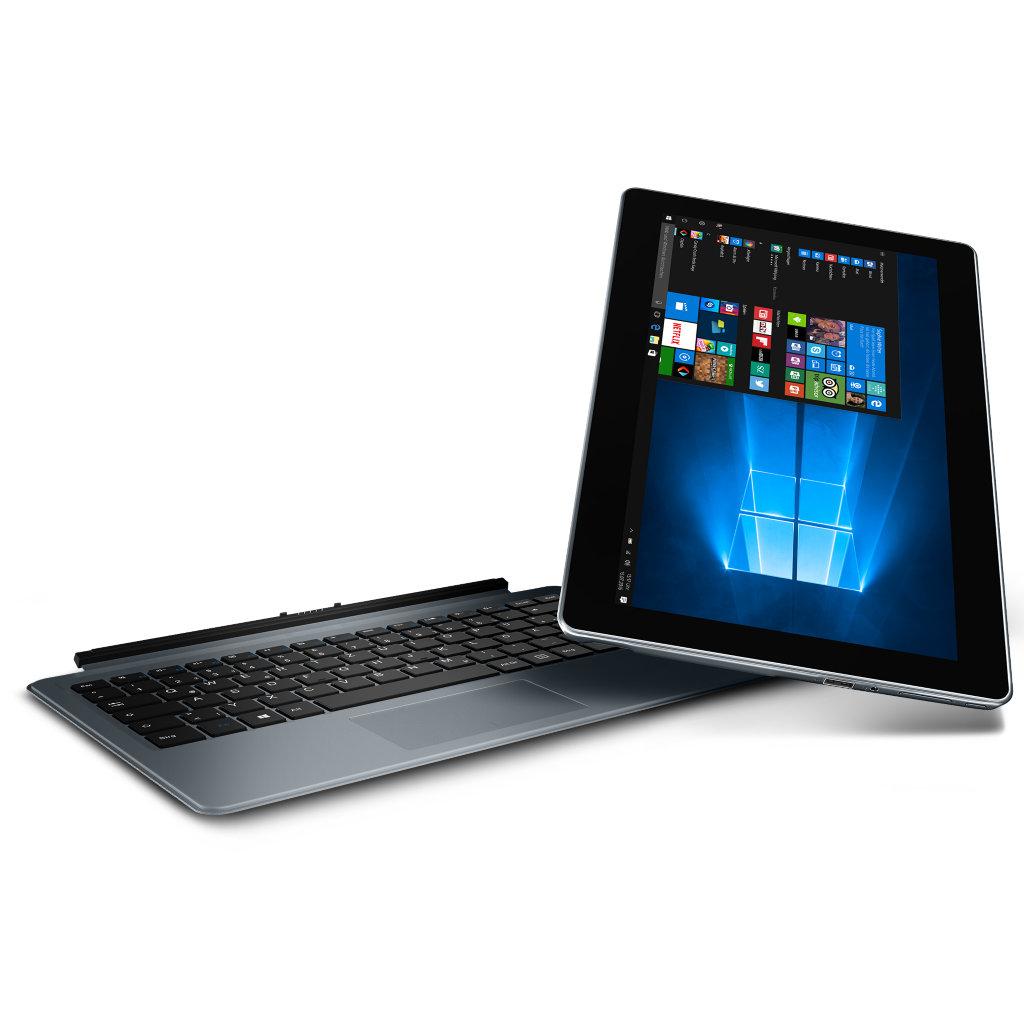 "Medion Akoya P3401T - 12,5"" FullHD Tablet/Notebook mit 128GB SSD, Core M5-6Y54, 8GB Ram"