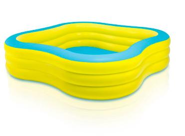 Planschbecken: Intex Swim Center Family Pool 229x229x56 cm für 22,99€ bei [babymarkt]