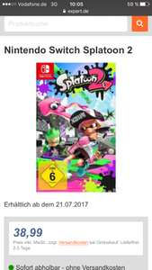 Splatoon 2 Nintendo Switch zum Hammerpreis