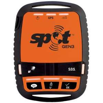 [bergzeit] GPS Tracker SPOT Gen3 Personentracker Schwarz, Orange [GPS Notruf, Akku-Laufzeit: bis zu 3 Monate