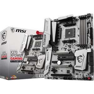 [CASHBACK & gratis Kühler (je 50€) = effektiv 167,68€] MSI X370 XPOWER GAMING TITANIUM bei Mindfactory