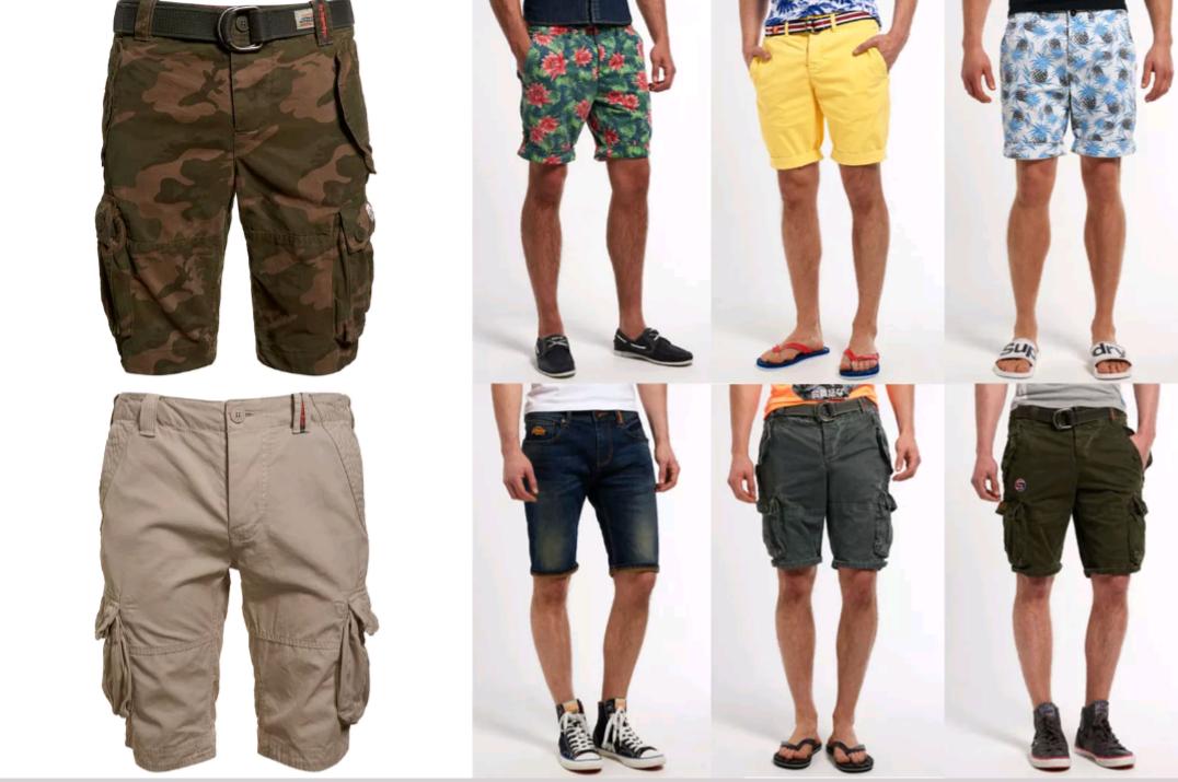 [eBay WoW] Superdry Shorts verschiedene Größen und Formen!!** Nur 26,99€ inklusive Versand!