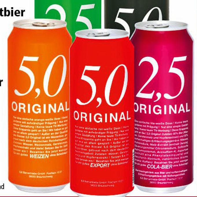 5.0 Original Bier für 35 Cent (Thomas Philipps)