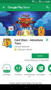 [Play Store] Adventure Time: Card Wars