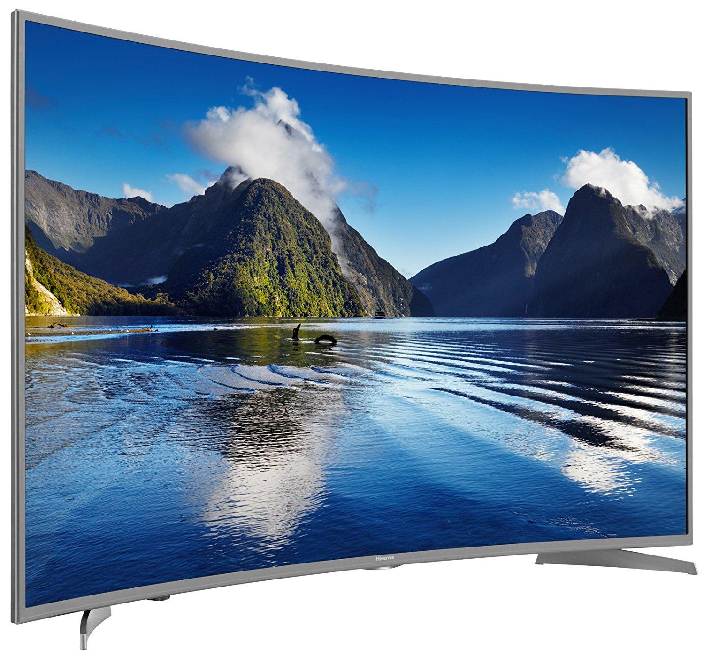 Hisense H55MEC5650 140 cm (55 Zoll) Curved Fernseher (Ultra HD, Triple Tuner, Smart TV) (PVG 713,94)