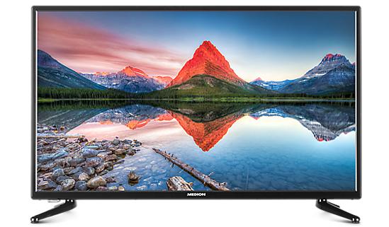 """Medion Life P16108: 40"""" Full HD (Edge-lit), Triple Tuner, CI+, 3x HDMI, VESA + 100€ Travelcheck Gutschein für 279€ (Medion)"""