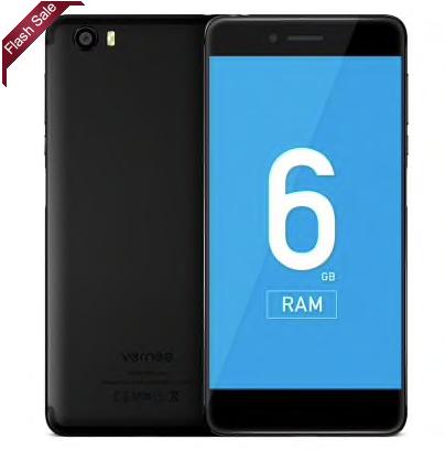 Vernee Mars Pro -Gearbest- 6GB RAM, 64GB, 3500mAh, 13MP, Band 20, Fingerprint, Android 7.0