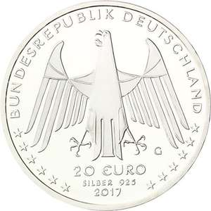 BRD 20 Euro Karl Drais für 20 Euro (zzgl. 3,95 Versand)