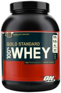 Optimum Nutrition Gold Standard Whey 2,273kg MHD August für 29,90€ + Versand(3,90€)