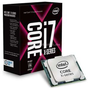 Intel Core i7 7800X Skylake-X 6x 3.5-4,5GHz, So.2066, Boxed ohne Lüfter, + Superpunkte @Rakuten