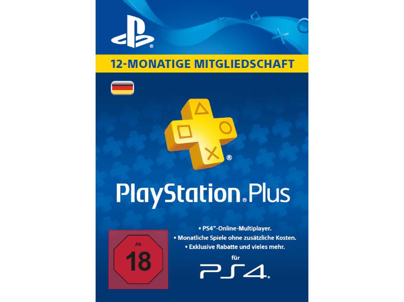 PlayStation Plus Card 12 Monate (für deutsche SEN-Konten) für 34,99€ Versandkostenfrei [Saturn Weekend Deals]