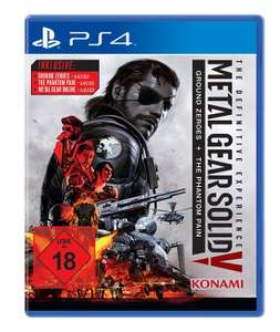 Metal Gear Solid V: The Definitive Edition (PS4) für 14,99€ versandkostenfrei (Saturn)