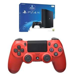 PS4 Pro + Dualshock 4 V2 Magma Red Controller [Amazon.es]