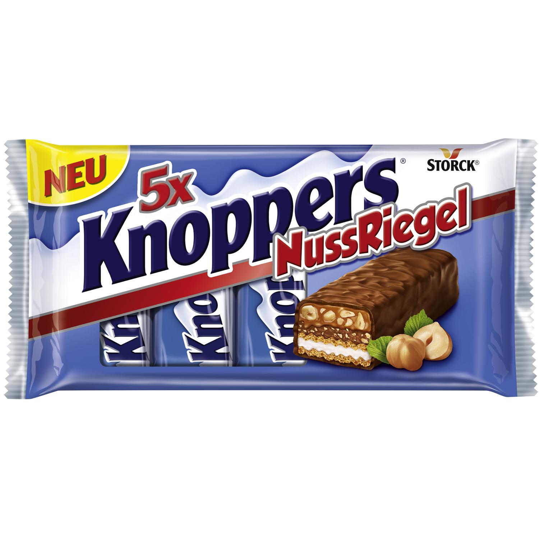 Jetzt Neu: Knoppers Nuss Riegel 5er-Packung für nur 1,95€ bei NORMA ab 31.07.2017