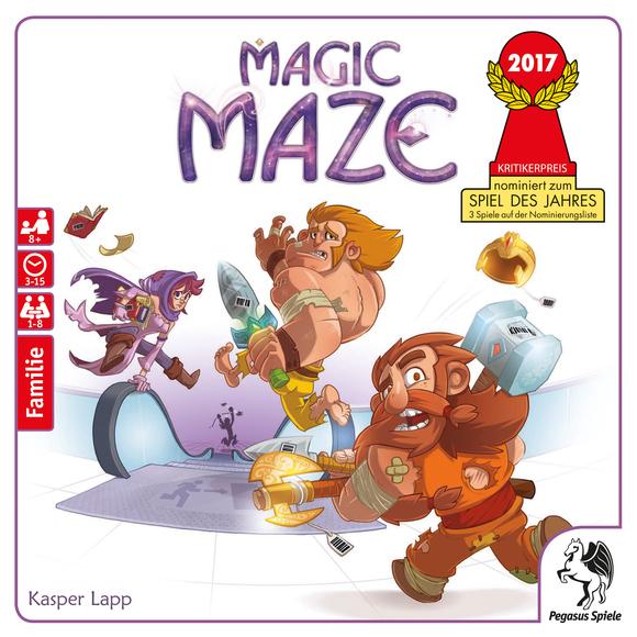 [Hugendubel] Magic Maze - Brettspiel/Gesellschaftsspiel Spiel des Jahres 2017 Nominee für 17,14