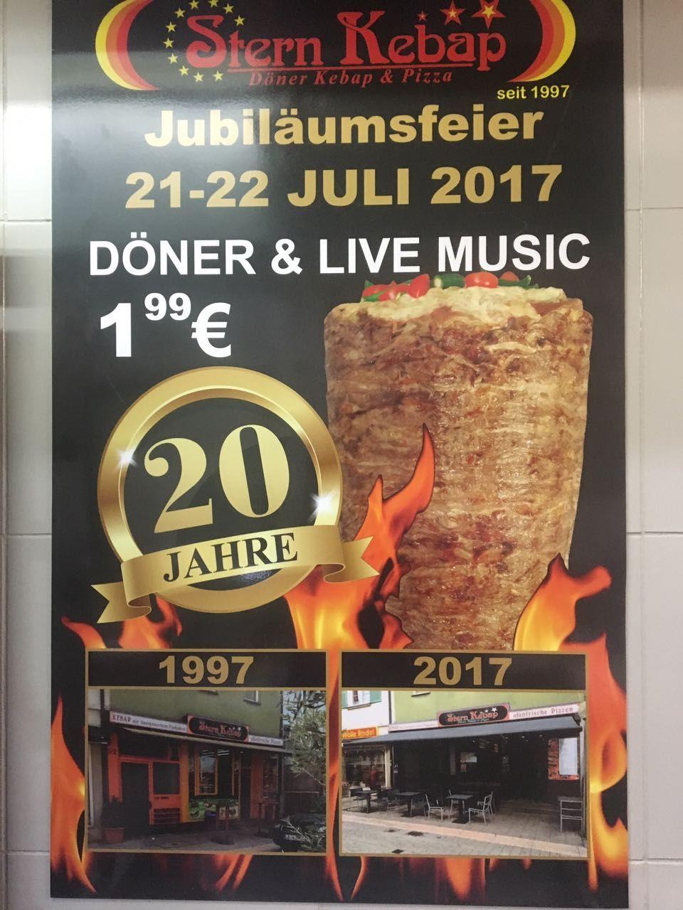 20Jahre Stern Kebap Ludwigsburg Jubiläum
