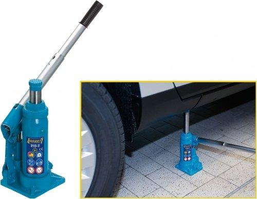 Amazon.FR: Hazet 210-12 Hydraulik - LKW Wagenheber 12 Tonnen