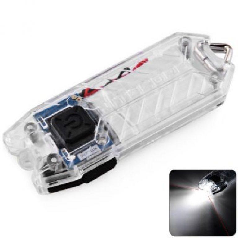 (Gearbest) NiteCore Tube - Schlüsselanhängerlampe, max. 45 Lumen, stufenlos regelbar, USB-Aufladung