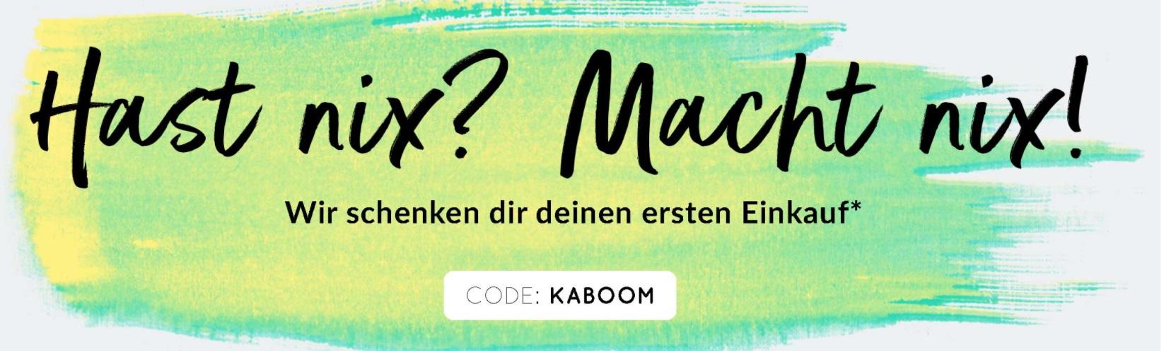 20€-Gutschein (für Neukunden) ohne Mindestbestellwert (und ohne Versandkosten) bei [Ubup] - Freebies möglich!