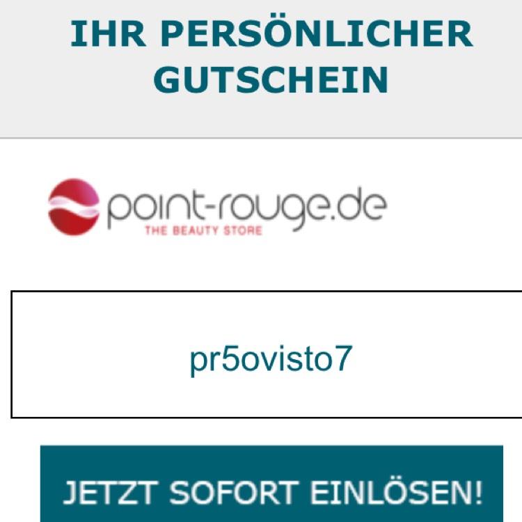 5€ bei Point-Rouge an 45€ MBW Versandkostenfrei