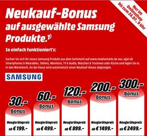Media Markt Samsung Neukauf Aktion