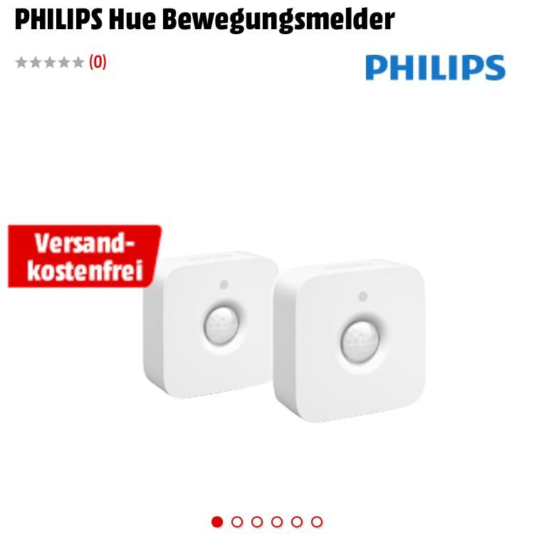 2x PHILIPS Hue Bewegungsmelder [Media Markt]