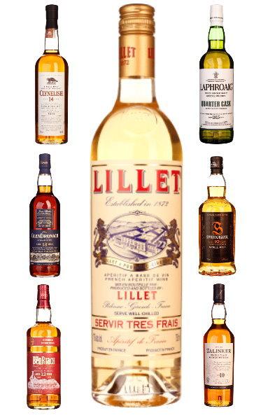 Lillet Blanc (+ More) mit verstecktem Potential für sehr günstigen Whisky, Gin, Vodka :)