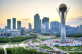 Frankfurt - Astana mit LOT oder AEROFLOT