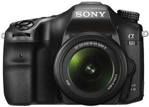 [Amazon & Saturn] Sony Alpha 68-Kit (ILCA-68K) inkl. SAL-1855 Objektiv