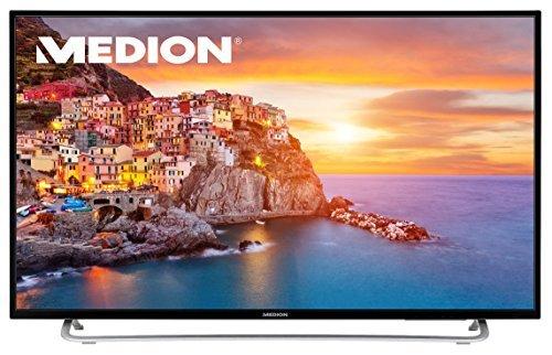 Medion Life P18107 TV (49'' FHD Edge-lit, Triple Tuner, 3x HDMI + Scart + VGA, 1x USB, CI+, VESA, EEK A+) + 100€-Travelcheck-Gutschein für 329€ [Medion]