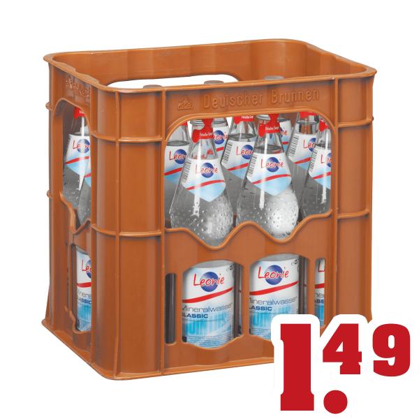 [Trinkgut] Leonie Mineralwasser Kasten 1,49€ + Pfand