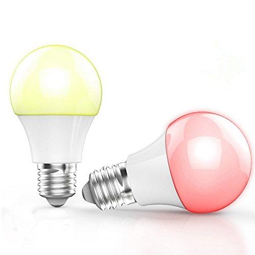 BOHMAIN Magic Dimmbare LED Glühlampe E27 Steuerung über iOS & Android für 16,99€ statt 29,99€ mit Prime