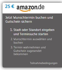 25 € BestChoice Einkaufsgutschein bei Zahnarztbesuch über Arzttermine.de