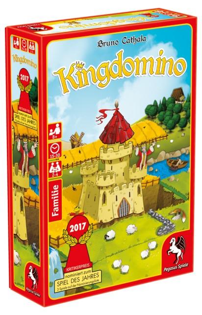 [hugendubel.de] Kingdomino (Spiel des Jahres 2017) für 16,99€ inkl. Versand