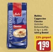 [REWE CENTER BUNDESWEIT KW30] 10x Melitta Typ Cappuccino + 5x 8€ Kinogutscheine für 20,60€