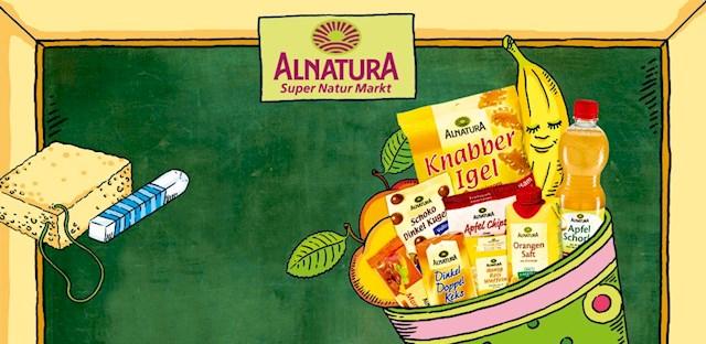 Zuckertüte = Schultüte - kostenlose Füllung bei Alnatura