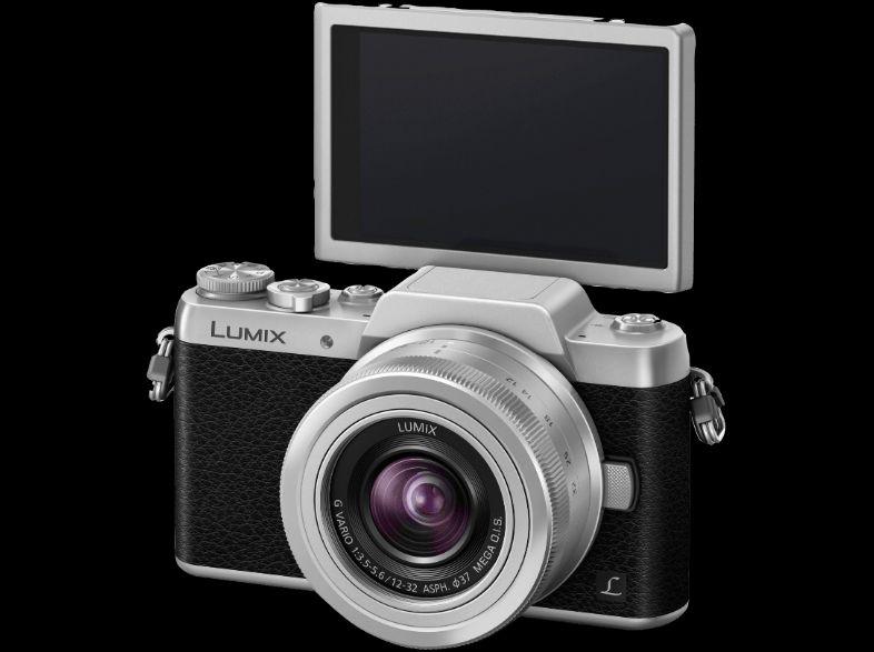 PANASONIC Lumix DMC-GF7K Systemkamera + 25€ Gutschein