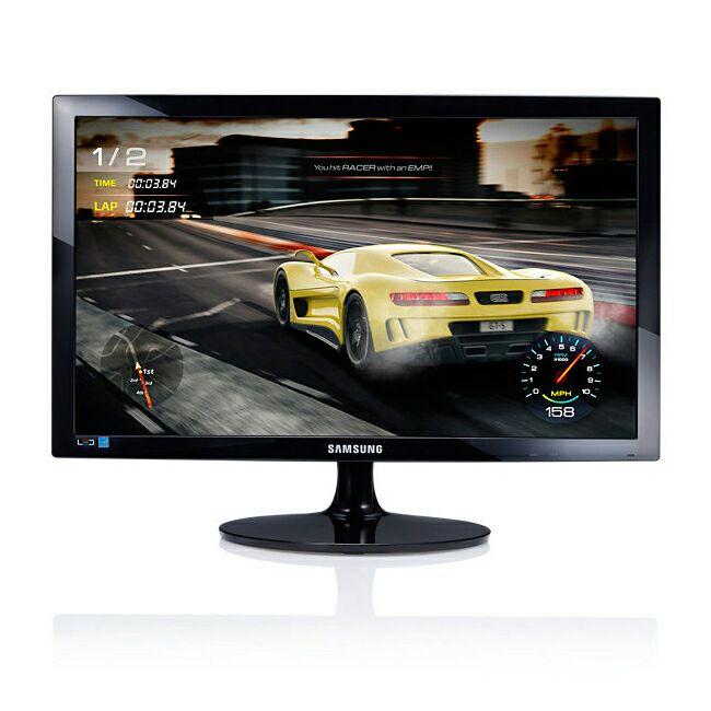 Samsung S24D330H - 61 cm (24 Zoll FHD), LED, 1 ms Reaktionszeit, HDMI, VGA, nbb