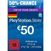 PlayStation Network Card - 50 Euro für 33,99  oder  Xbox Live Guthaben - 50 Euro für 28,99 Euro @ gameladen