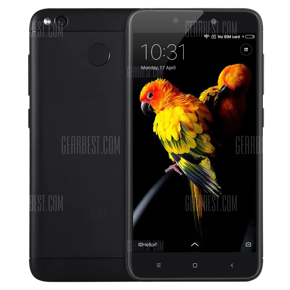 Xiaomi Redmi 4X International Band 20, schwarz, 5 Zoll