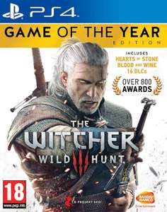 The Witcher 3 Game of the Year Edition (PS4/Xbox One) für 22,33€ (Zavvi)