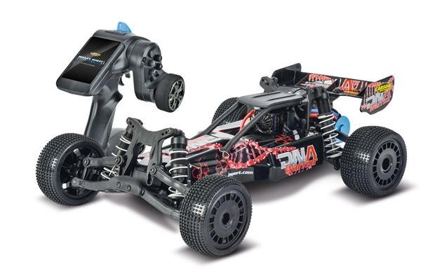 [d-edition.de] Carson - 1:10 DNA Warrior 2WD BL 2.4 G RTR, Fahrzeuge / Ferngesteuerter Buggy (RC-Buggy  Maßstab 1:10  RTR (Ready-to-Run)  Brushless  max. Geschwindigkeit 50 km/h  Fernsteuerung inklusive)