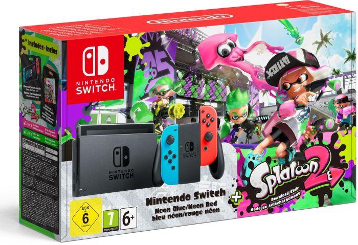 Nintendo Switch + Splatoon 2 für 334,90€ inkl. Versand [Weltbild]