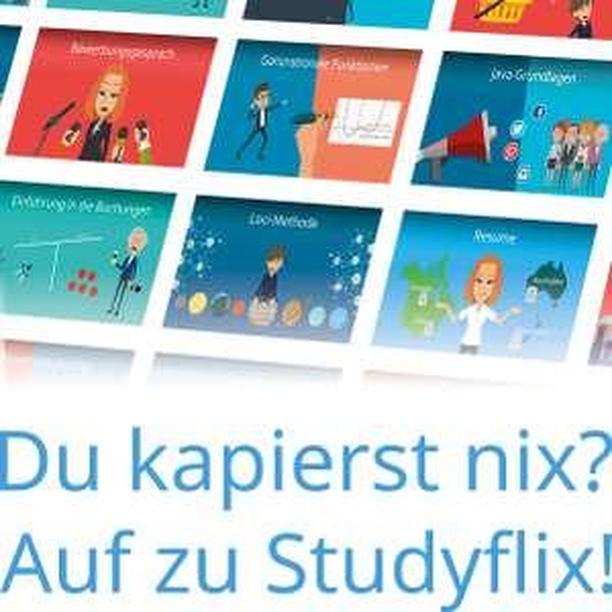 Kostenlose Videokurse für die Klausurenvorbereitung auf Studyflix