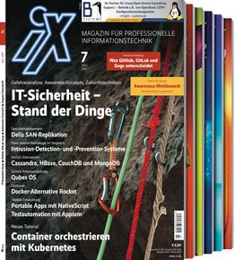iX Magazin Probeabo (3 Ausgaben Print ODER Digital) für 13,50€ mit 10€ BestChoice-Gutschein