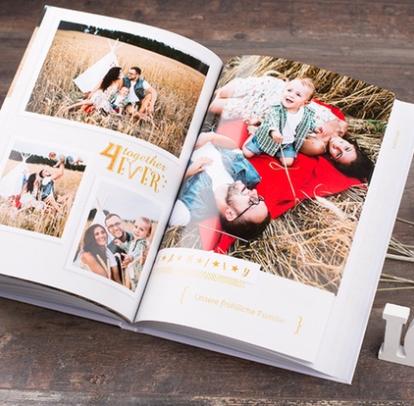 Fotobuch Classic im Hochformat A4 mit 100 Seiten für 19,90€ oder 140 Seiten für 24,90€